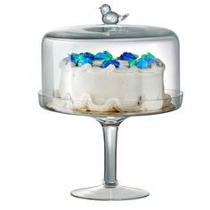 Songbird Cake Stand and Dome.