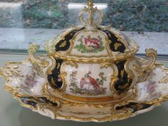 Southern Folk Artist & Antiques Dealer/Collector: Campbell Collection of Soup Tureens at Winterthur