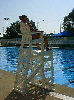 Tailwind Furniture Recycled Plastic Small Lifeguard Chair   LG 505 |  Products, Lifeguard And Plastic