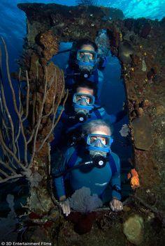 Explore the Oceans in 3D with the Cousteaus • Scuba Diver LifeScuba Diver Life