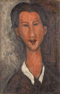 portrait of chaim soutine' by amedeo modigliani