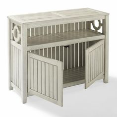 Sideboard for use in bathroom- not sure I want whitle