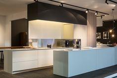 bulthaup - b3 keuken - laminaat in kiezelkleur -  batibouw 2016 - designed by k vorm