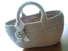 Wind bag with corsage basket *