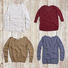 El producto destacado para esta semana, donde el sol todavía nos acompaña a ratos, es un sweater de hilados naturales algodones y linos ideal para la media estación… ven a conocer nuestra colección en todas nuestras tiendas.