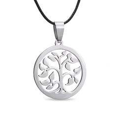 Jewelry tree of life pendant necklace at MEIJING. Made from quality 316l…