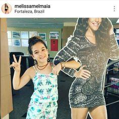 Leveza e conforto para curtir as férias de Verão. Que tal seguir as dicas da atriz Mel Maia e arrasar no look?  #melmaia #elausa #verão2017 #karapalida