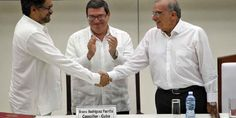 "Top News: ""COLOMBIA: What Way Forward After Peace With FARC?"" - https://politicoscope.com/wp-content/uploads/2016/08/An-historic-handshake-between-FARC-delegate-Luciano-Marin-and-Colombian-government-peace-delegate-Humberto-de-la-Calle-Colombia-Politics-News-790x395.jpg - The agreement is cause for huge celebration, but an official end to war with the FARC is only the start of the road to peace.  on Politicoscope - https://politicoscope.com/2016/08/30/colombia-what-way-forwar"