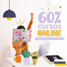 60% de descuento en cursos de diseño – Una Fiesta Bonita #powerpoint #cursosonline #illsutrator #diseñofiestas