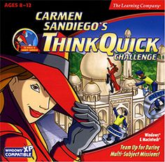 Carmen Sandiego's Think Quick Challenge