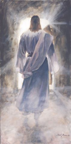 """Jared Barnes, """"The First"""" ~ Jesus, leaving the tomb!  Beauty on every level!"""