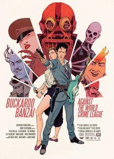 Buckaroo Banzai - movie poster - Robert Sammelin