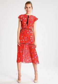 Markus Lupfer FRUIT BLOSSOM - Vestido informal - red - Zalando.es