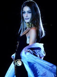Carla for Gianni Versace f/w 1991/92