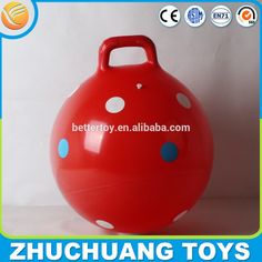 Check out this product on Alibaba.com APP 45cm dot print hopper ball bounce for kids