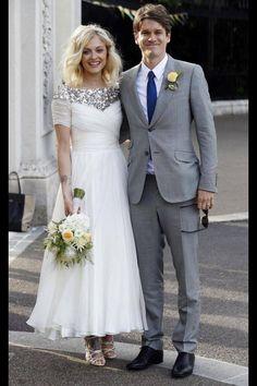 Fearne's wedding dress was beautiful