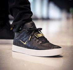 """Schwarzer Nike Tiempo Vetta '17 """"Black/Gold"""" in hochwertigem Ziegenleder und goldenen Details - solekitchen.de   Solekitchen – Sneakerstore Chemnitz"""