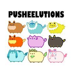 Pusheen the Cat  Pusheelutions (Pusheen Eeveelutions) Variation 2