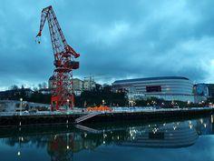 La grúa Carola de Bilbao: historia y curiosidades