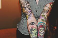 Misfits & Classic Horror Tattoos
