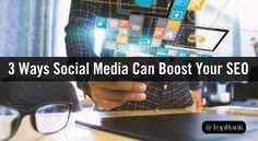 3 Important Ways Social Media Can Boost Your SEO http://www.marketingfeast.com/3-important-ways-social-media-can-boost-your-seo/