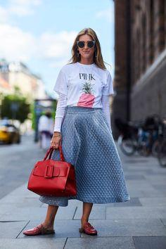 Street style: Casual look with street Copenhagen