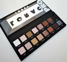 The LORAC #PROPalette has all the matte and shimmer shades you need to create #beautiful looks every day.