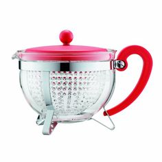 Bodum Chambord 13Liter Tea Pot 44Ounce Red >>> Details can be found by clicking on the image.Note:It is affiliate link to Amazon.