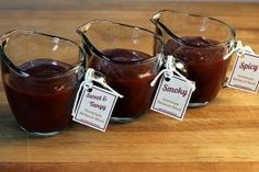 Barbecue Sauce--Sweet & Tangy, Spicy, or Smoky
