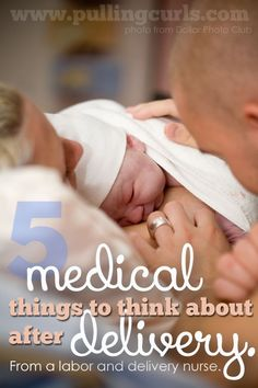 5 medical things to think about during your postpartum recovery.  Sometimes all you want to do is focus on that baby but YOU just had a major thing too.  Stay healthy for your new babe!