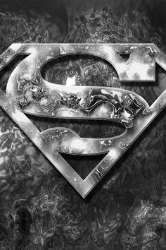 Man of Steel Logo HD desktop wallpaper : High Definition Superman Logo Wallpaper Comic Superman, Logo Superman, Superman Tattoos, Black Superman, Superman Symbol, Superman Man Of Steel, Superhero Superman, Superman Characters, Superman Stuff