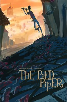 The Pied Piper cover by Monico Chavez _____________________________________ Great use of warm and cool colors!