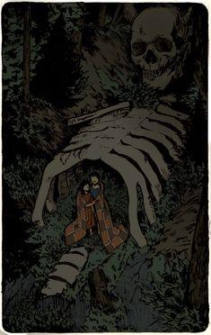 "Workshop — ""Fables of the northern forest"" Elena Kononenko. Arte Horror, Horror Art, Inspiration Art, Art Inspo, Art And Illustration, Medical Illustration, Fantasy Kunst, Fantasy Art, Arte Obscura"