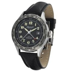 Cairo, Casio Watch, London, Leather, How To Wear, Accessories, Caracas, Ingersoll Watches, Stainless Steel Case