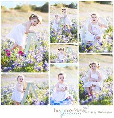 Bluebonnets Children's Session | Inspire Me Photography