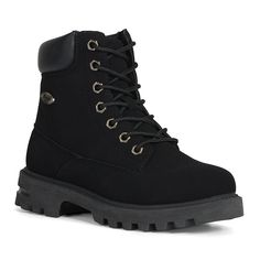 Lugz Empire Hi Grade School Kids' Water-Resistant Boots, Kids Unisex, Size: Black Beige Ankle Boots, Lace Up Boots, Black Boots, Dr Shoes, Hiking Boots Women, Baby Boy Shoes, Western Boots, Timberland Boots, Shoe Boots