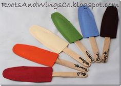 popsicle matching activity (write color on stick -- can write in the corresponding colors or write in black and they have to recognize the word)