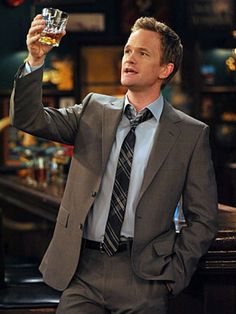 Barney Stinson♥ (Neil Patrick Harris), How I Met Your Mother Neil Patrick Harris, How I Met Your Mother, Ted Mosby, Montgomery Clift, Marlon Brando, Sean Connery, Steve Mcqueen, Cary Grant, Clint Eastwood