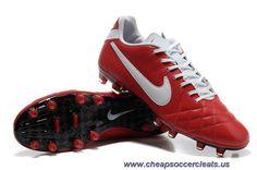 New Nike Tiempo Legend IV Elite FG Deep Red-White