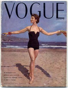 Vogue Paris 1953 July-August Beachwear