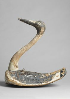 Long Necked Shorebird Decoy (Sold by Robert Young Antiques).
