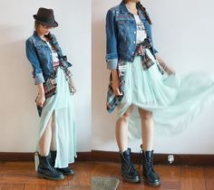 Ice mint (by Nora D) ...love lovee this look!! i spy dr.martens.... =)
