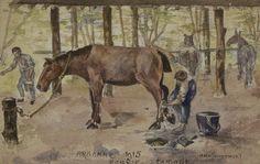 Drawing by Gaston Boulez. Europeana 1914-1918, CC BY-SA
