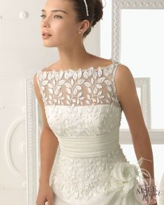 <3 <3 <3 Wedding Dresses: Aire Barcelona 2014 Collection