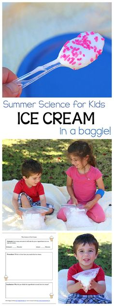 how to make simple ice cream in a bag