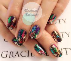 #gelnail #nailart #brisbanenail #glittlernail #bestnailart #graciebeauty #acrylicnail #ibdgel #shellac #japanesestylenail #japanesenail