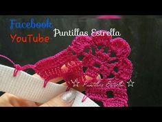 Bordado Fantasia Lily - YouTube Crochet Borders, Crochet Stitches, Crochet Patterns, Crochet Doilies, Crochet Hats, Crochet Videos, Beautiful Crochet, Arm Warmers, Needlework