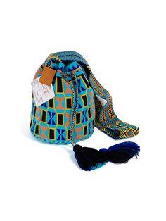 L.A. Cano Wayuu Mochila Shoulder Bag -