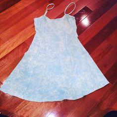 Sundress Blue textured sundress. Never worn before. Dresses