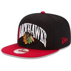 new styles 1575f 38680 Adult New Era Chicago Blackhawks Team Lead 9FIFTY Original Fit... ( 28)